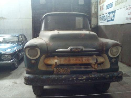 Car Chevrolet Camión 1957