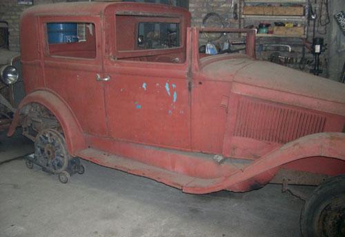 Car Hudson Essex Sedán