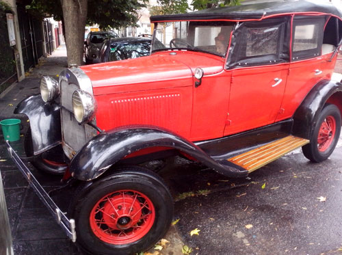 Auto Ford A Doble Pheaton
