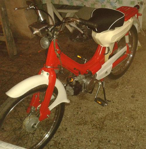 Moto Honda Corvex
