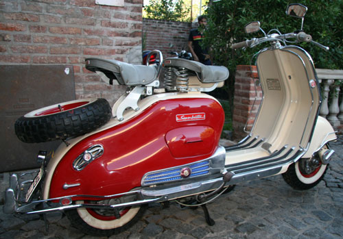 Motorcycle Siambreta 125 De Lujo