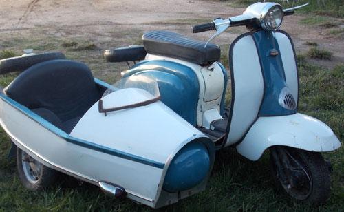 Motorcycle Lambretta 175