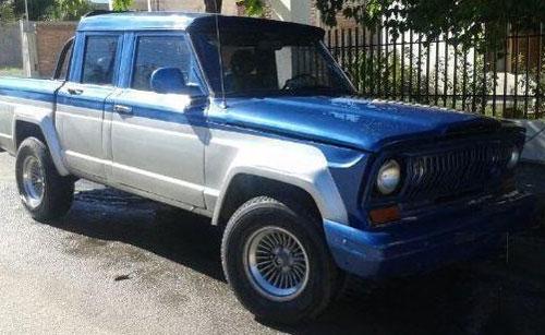 Car Jeep Gladiator Doble Cabina
