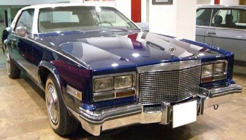 Car Cadillac Eldorado Coupé