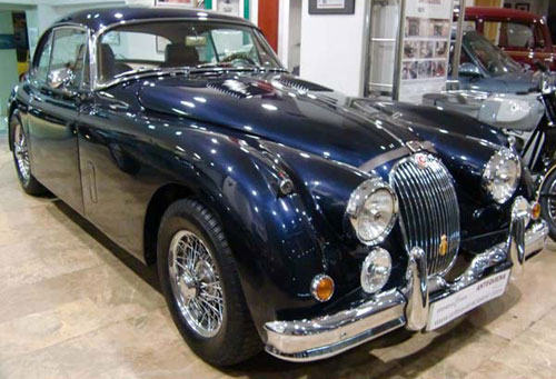 Car Jaguar XK 150 S FHC