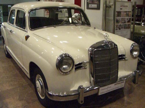 Car Mercedes Benz 190 B Ponton W121