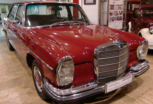 Car Mercedes Benz 300 Sel 3,5 W109