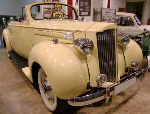 Auto Packard 1700 Six Convertible