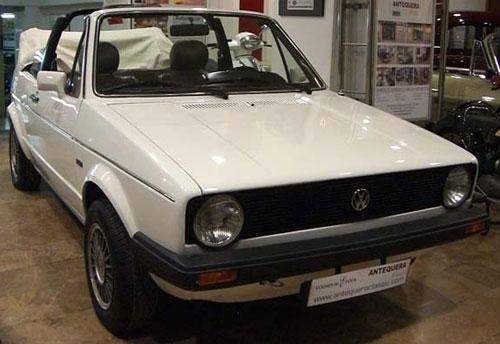 Car Volkswagen Golf Karmann MK1