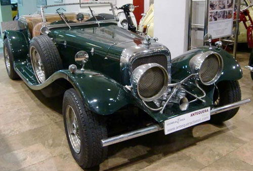 Auto Jaguar SS 100 Réplica