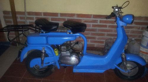 Motorcycle Crawdet 1958