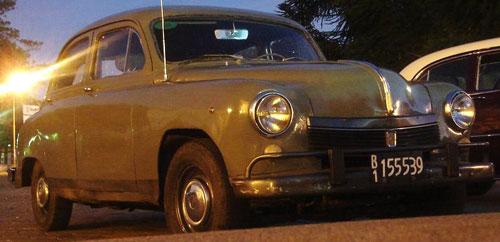 Car Fiat 1400 1951