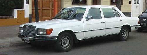 Car Mercedes Benz 280 SEL