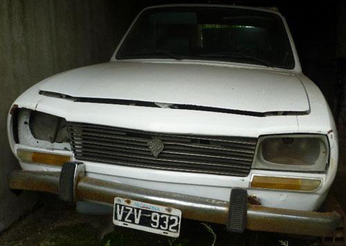Car Peugeot 1976