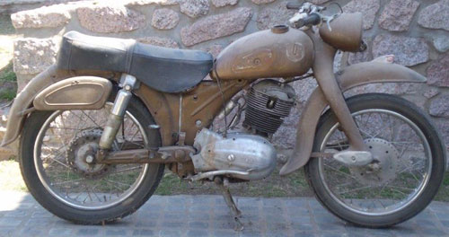 Motorcycle NSU Supermax