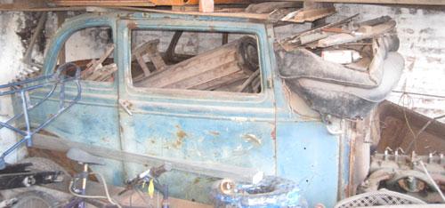 Car Ford A 400 1931