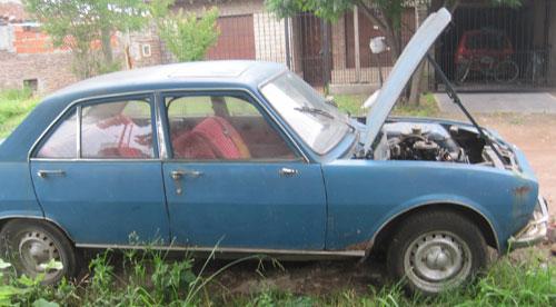 Auto Peugeot 1970