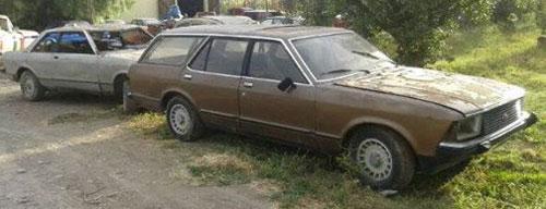 Car Ford Granada Rural Ghia