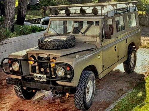 Auto Land Rover Defender 1959