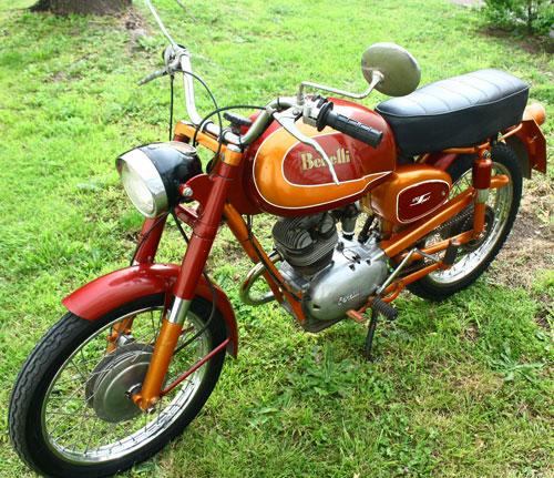 Motorcycle Benelli 1957