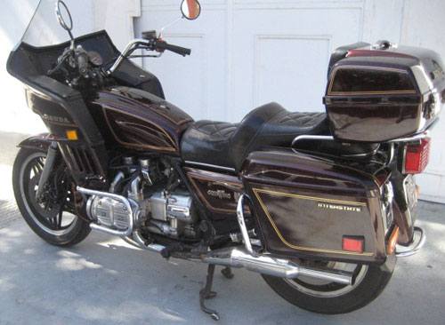 Motorcycle Honda 1983