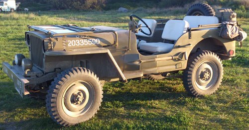 Auto Willys MB