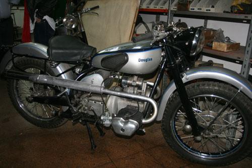 Motorcycle Douglas 350 Sport 1948