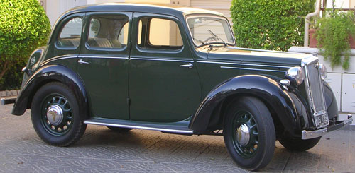 Car Wolseley 8 1947