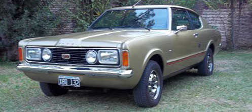 Auto Ford Taunus Coup� GT SP