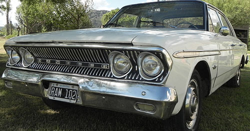 Auto Rambler IKA 1964