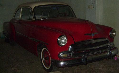 Car Chevrolet Sedán 1951