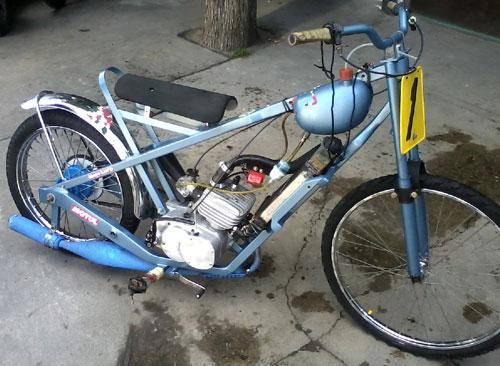 Moto Zanella RZA 125