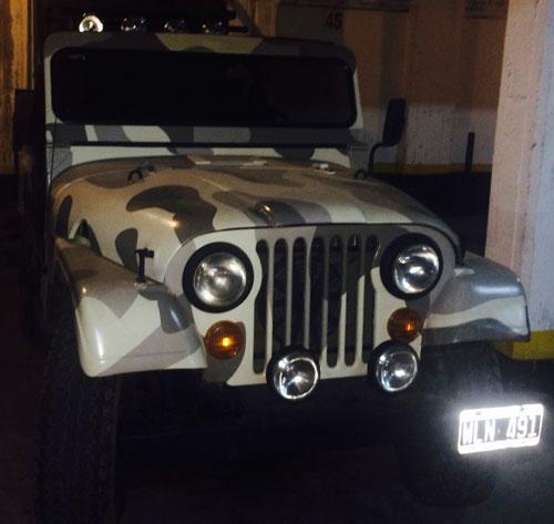 Auto Jeep IKA 1958