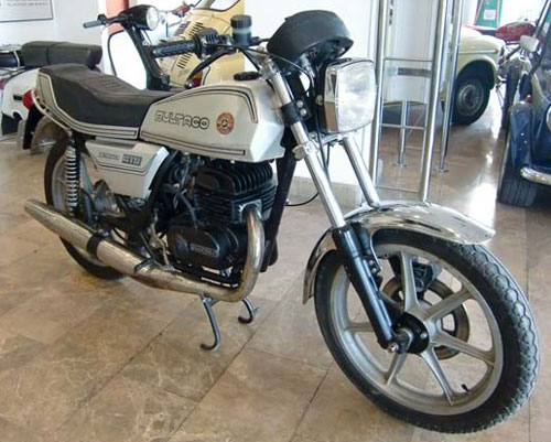 Motorcycle Bultaco Metralla GTS B 250