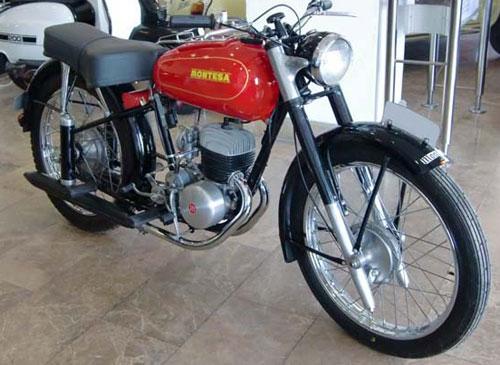 Motorcycle Montesa Brio 80