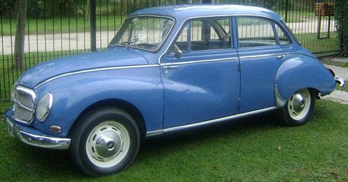 Car DKW Autounion 1964
