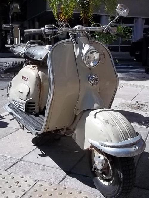 Motorcycle Siambretta 150 LD