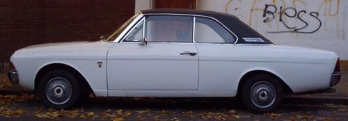 Car Ford Taunus 20M V 6