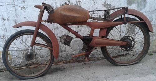 Motorcycle Guzzi Cardellino 1957