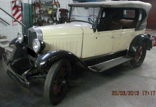 Car Chevrolet Campeón 1928