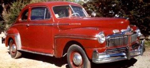 Car Mercury Coupé