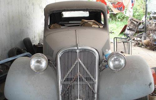 Car Citroen 11 Ligero
