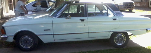 Auto Ford Futura 1980