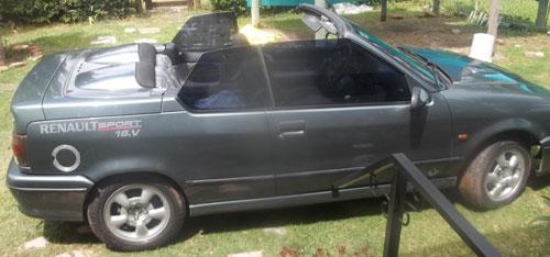 Car Renault 19 Cabrio