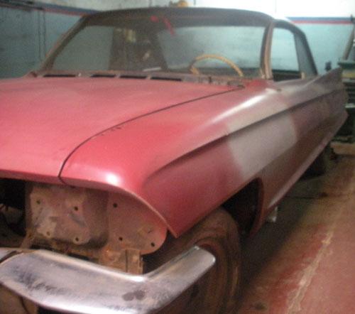 Auto Cadillac 1961