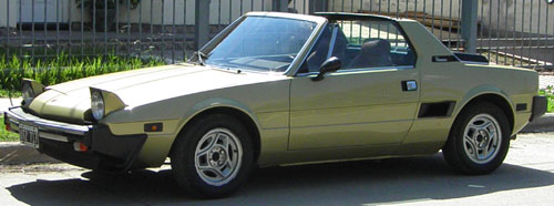 Car Fiat Bertone X1/9