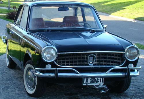 Auto Fiat 1500 Coupé Vignale