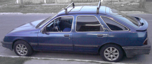 Car Ford Sierra Ghia Full