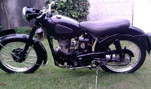 Moto Velocette 350 1957