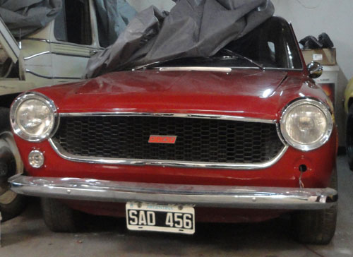 Car Fiat Coup� 125
